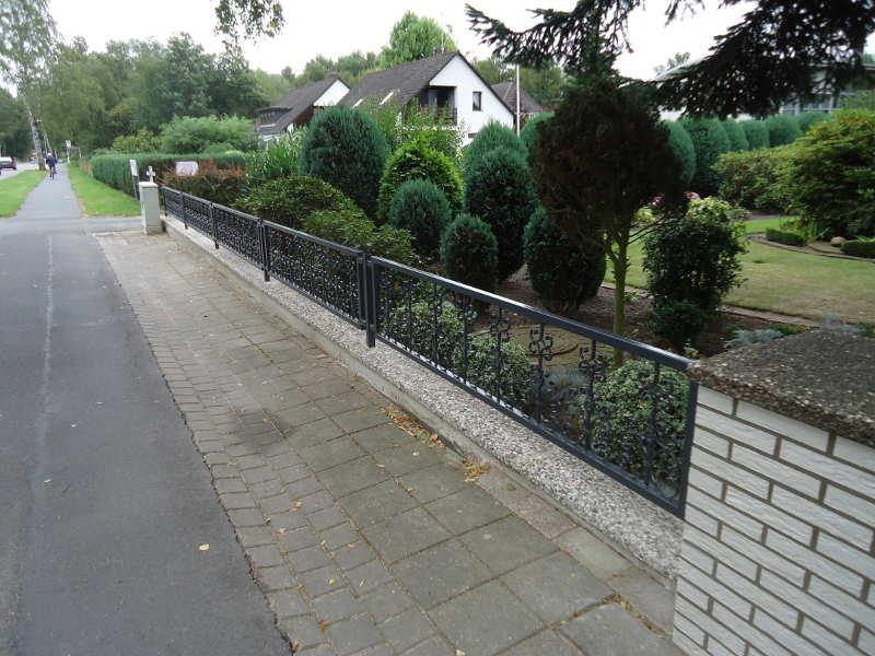 S t metall grasberg lilienthal worpswede produkte tore - Zaun vorgarten ...